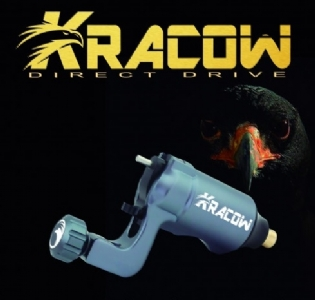 Máquina Rotativa Direct Drive White Head KRACOW - Gun Metal