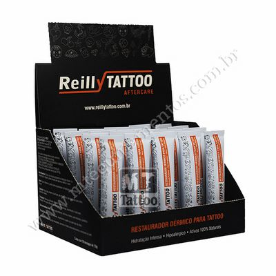 Restaurador Dérmico Reilly Tattoo 15Gr - Cx 20 Und